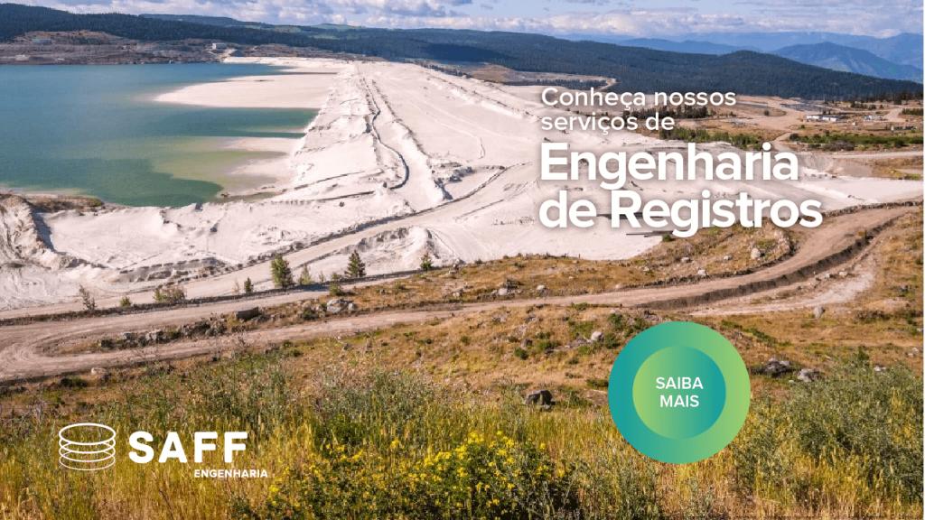 Banner de engenharia de registros que direciona o leitor ao site da Saff Engenharia