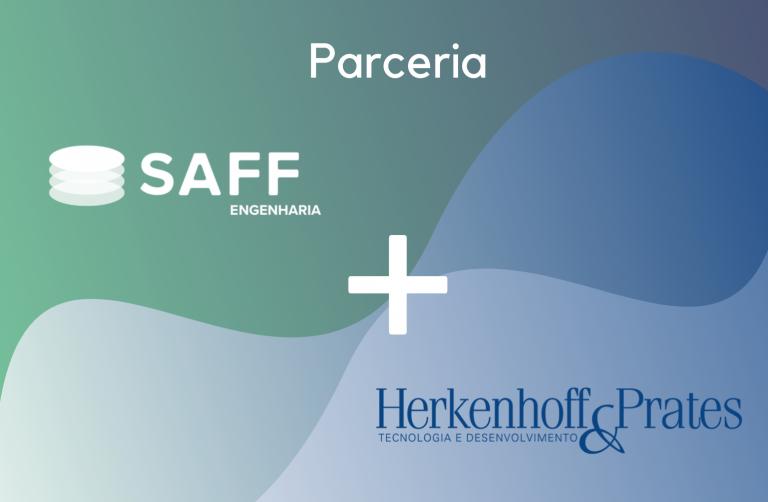 banner que anuncia a parceria entre a SAFF Engenheira e a H&P