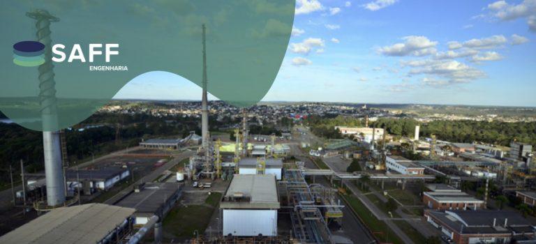Foto area de refinaria da petrobras