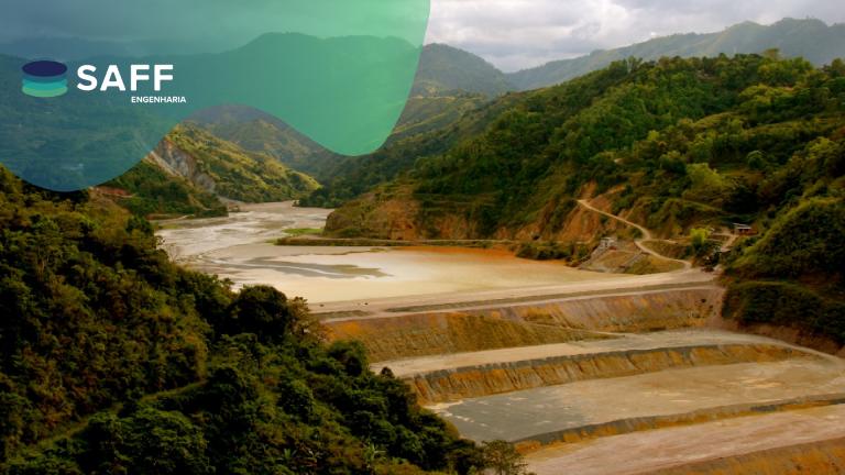 Fotografia de uma barragem utilizada para explicar o que é Engenharia de Registros (EoR)