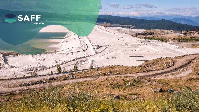 Fotografia relacionada à mineração para explicitar o dever que as mineradoras possuem em entregar as Inspeções de Segurança Regular semestrais à ANM