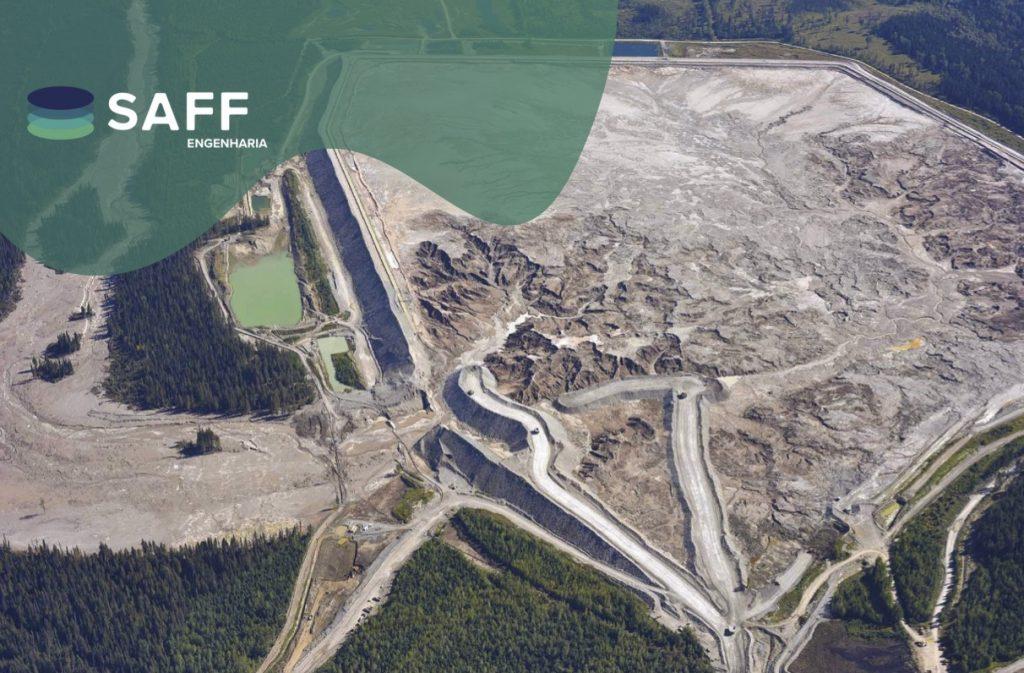 Fotografia de uma barragem rompida para ilustrar o artigo a respeito de mapas de inundação